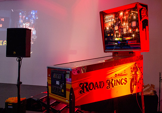 The grand prize - a refurbished Road Kings