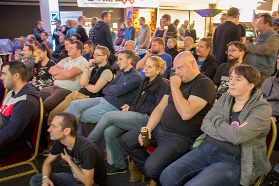 The audience for the classic tournament final