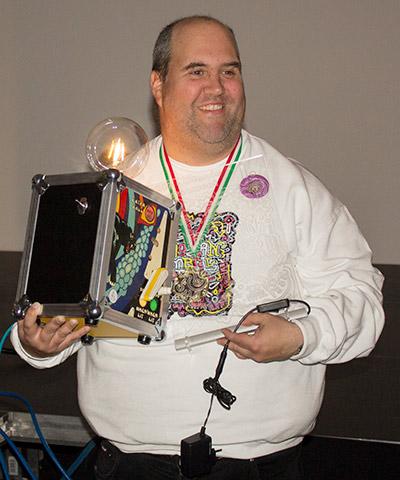 Winner of the classics tournament, Sághy Kálmán