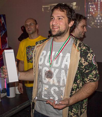 Fourth place, Flavio Baddaria