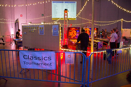 The Classics Tournament area