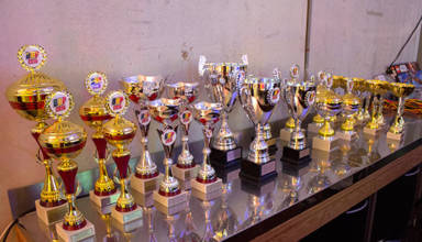 Trophies at the BoP 2016