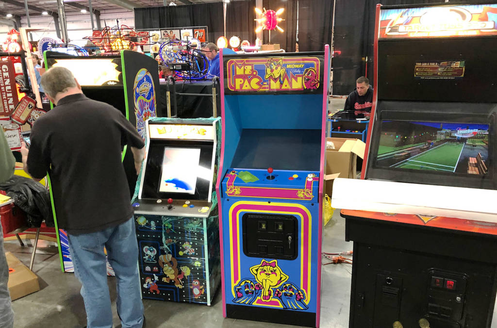 There were arcade video games too