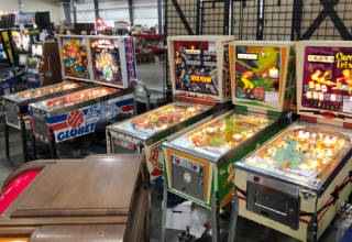 Pinballs at the Chicagoland Show