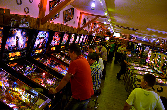 Inside Freddy's Pinball Paradise