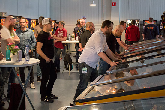 The second round of the Dutch Pinball Masters