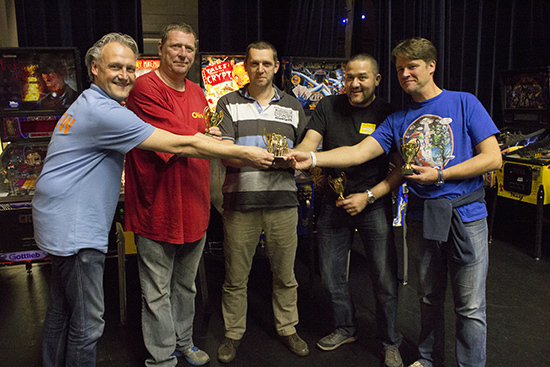 Winners of the Team Tournament, Team Belgium