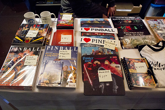 Books, magazines, mugs, mousepads, and more