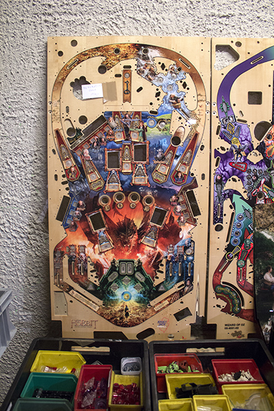 A playfield for The Hobbit marked for 'decoration only'
