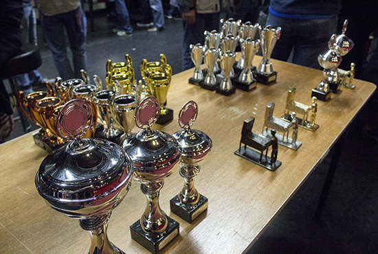 Trophies and cash prizes awaited the winners