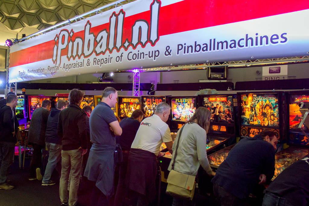 iPinball.nl's stand