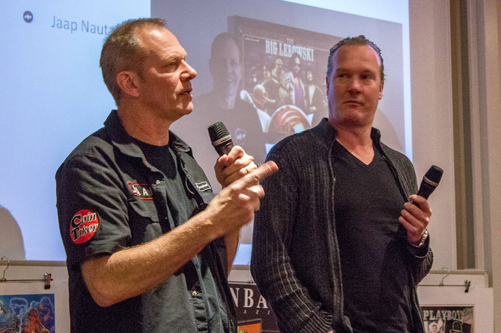 Jaap Nauta and Barry Driessen from Dutch Pinball