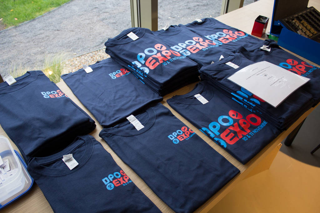T-shirts were also available to purchase