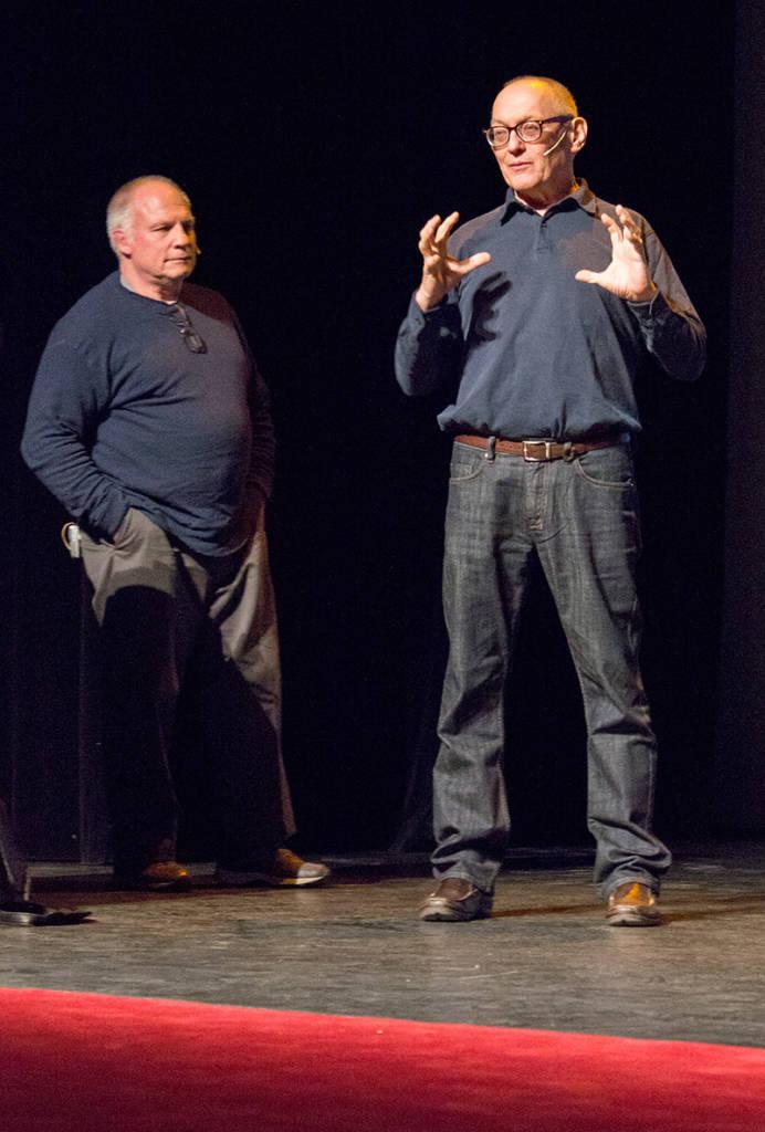 Paul Faris and Jim Patla