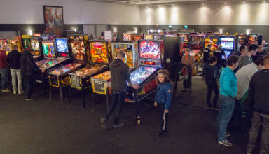 The first game hall at the DPO Expo 2019