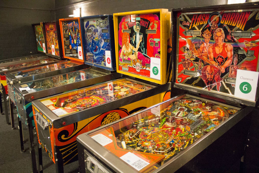 Some of the Classic Tournament machines