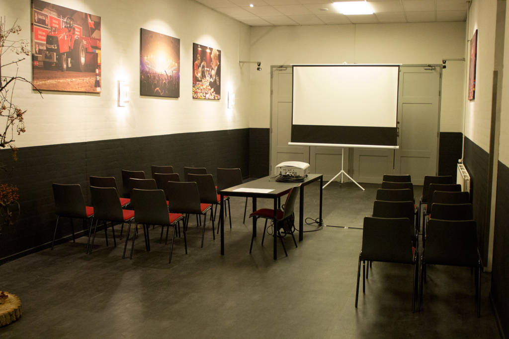 The seminars area