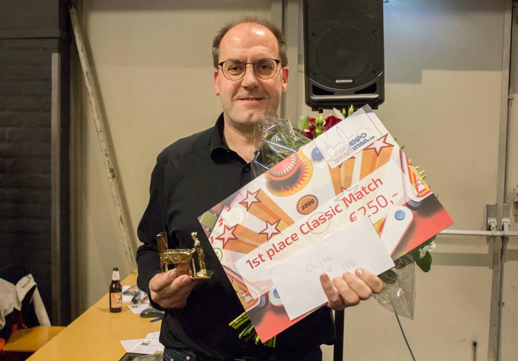 Winner of the Classic Tournament, Dirk Elzholz