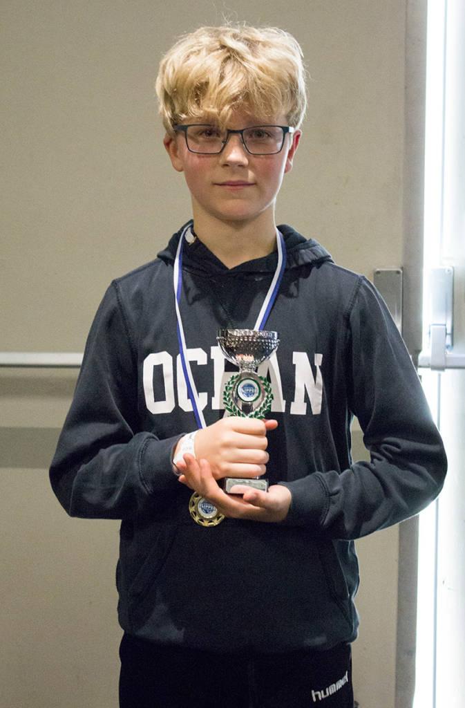 Second place, Simon Piloo