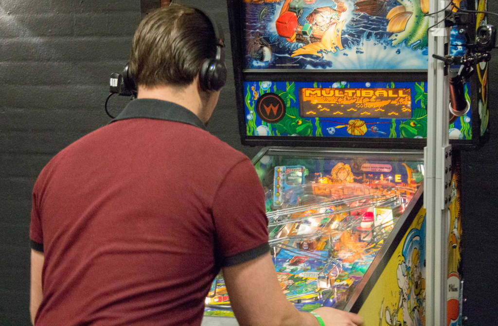 Bart gets multiball, but it isn't enough