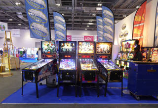 Stern Pinballs at EAG International 2016