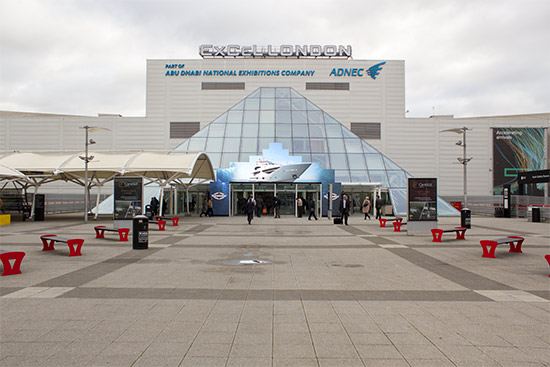 Excel London, home of EAG 2016