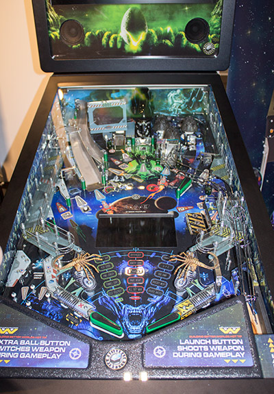 The whole playfield