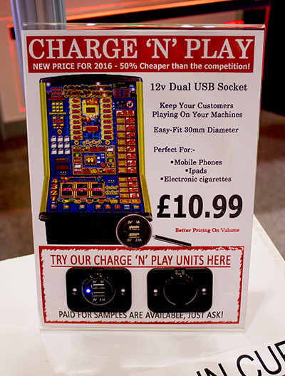 Although intended for slot machines, this could be good on a pinball too