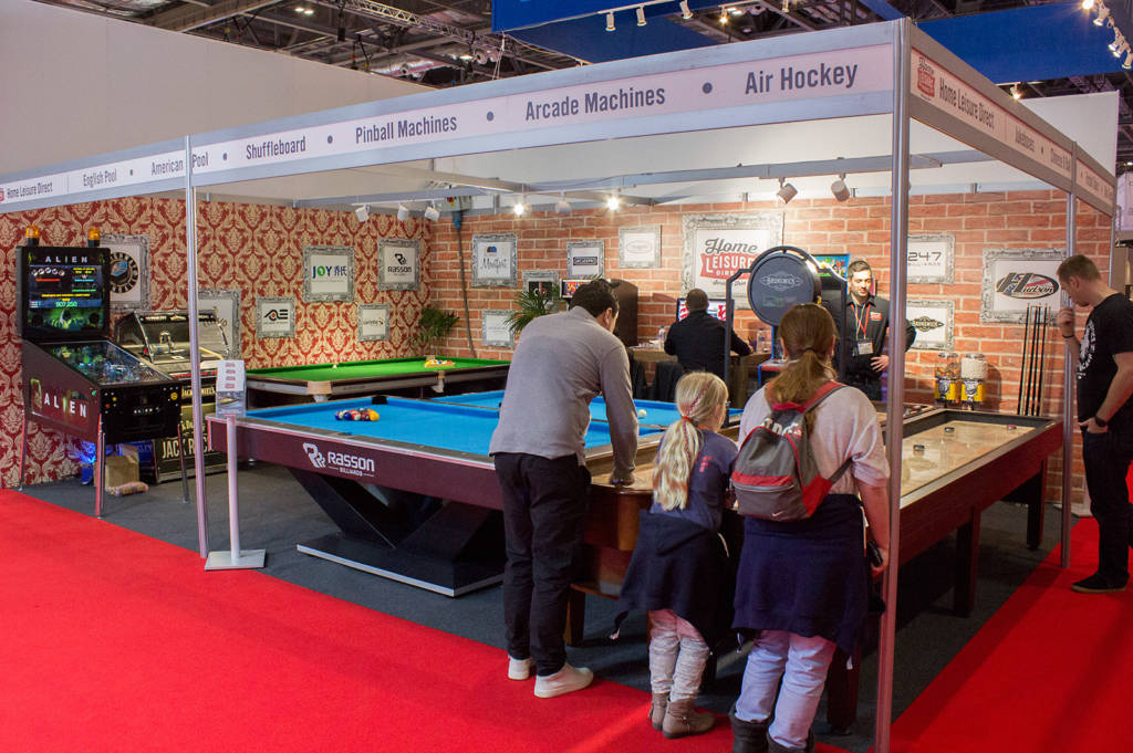 Home Leisure Direct's stand