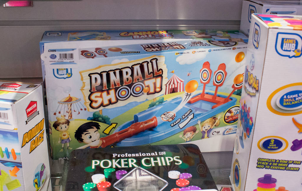 OK, well not really pinball, but...