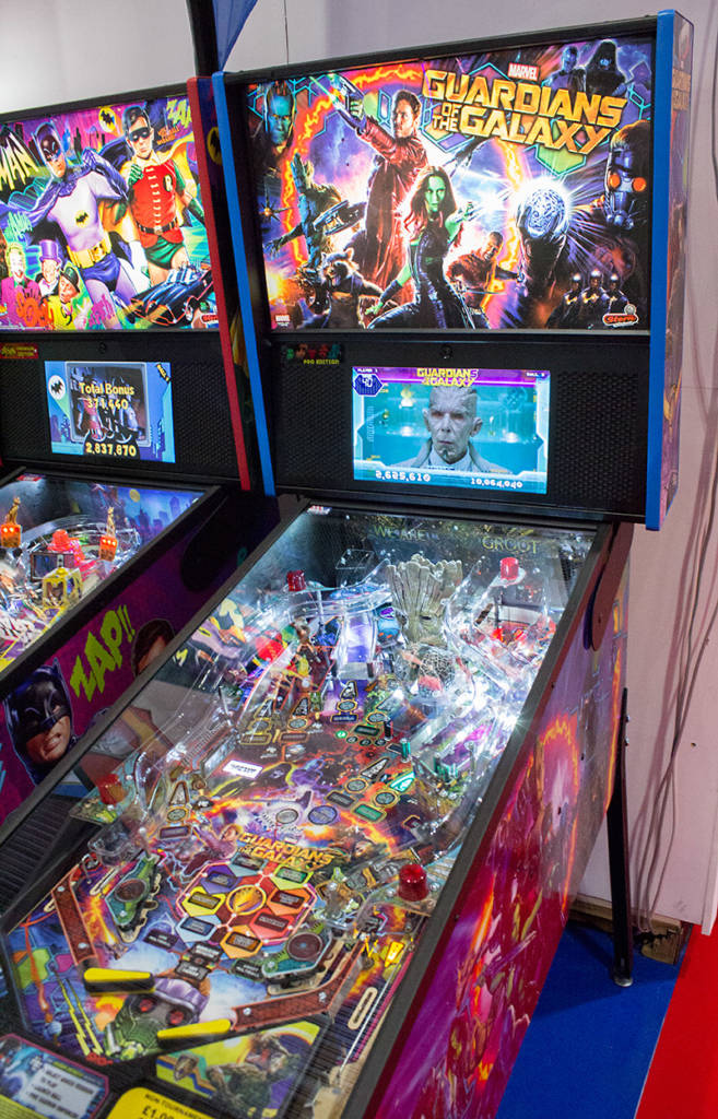 Stern Pinball's new Guardians of the Galaxy
