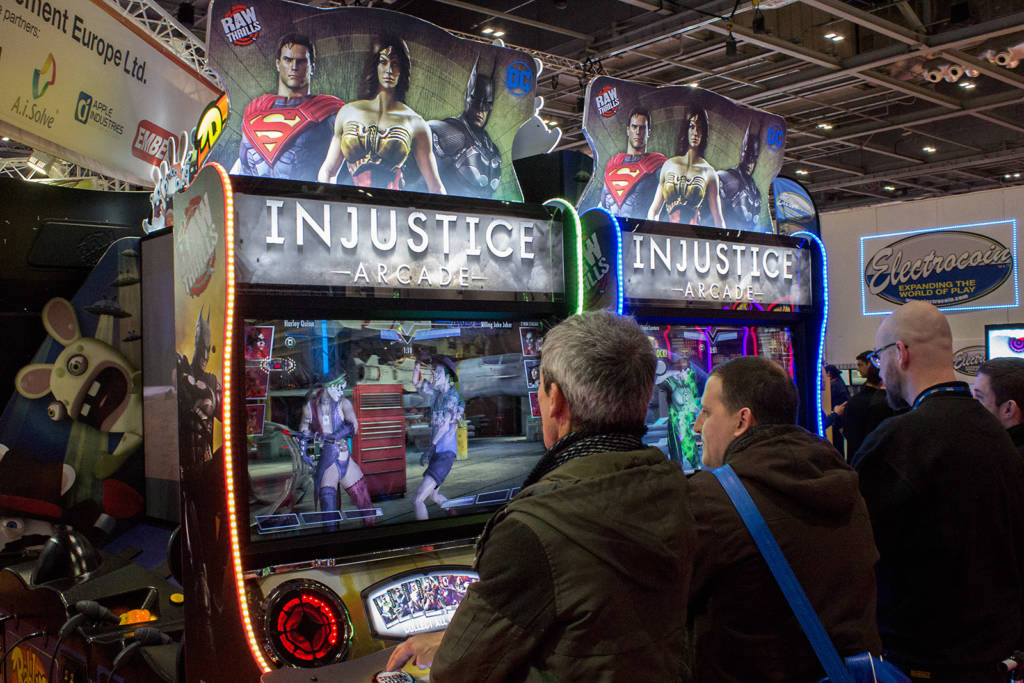 Injustice Arcade from Raw Thrills