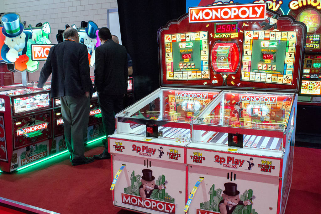 Even after all these years, Monopoly still seems to be a hugely popular licence in coin-op