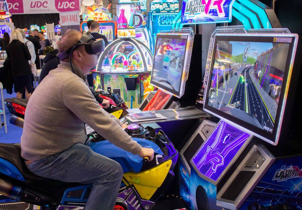 Virtual Reality bike racing
