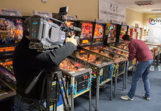 The European Championship Series final at Printimus Pinball