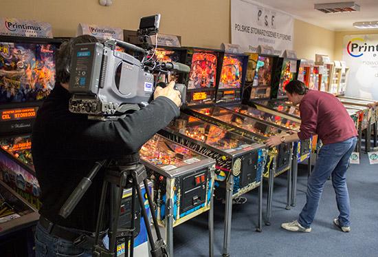 Filming Paul Jongma playing Theatre of Magic