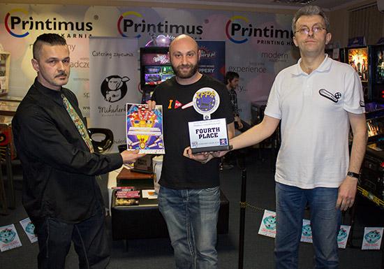 Fourth place, Daniele Acciari
