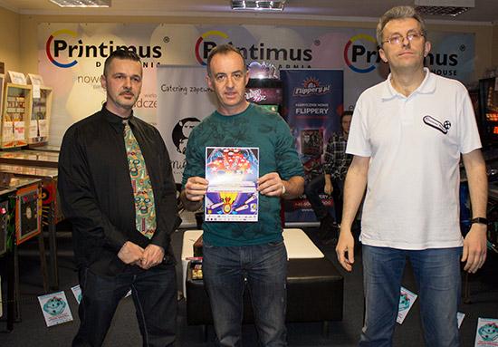 Winner of the Mihiderka Classic Tournament, Carlos Javier Parra