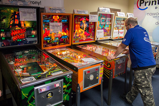 The six Classic Tournament machines