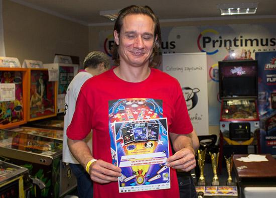 Fourth place, Markus Stix