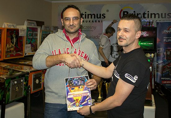 Winner of the Star Trek Tournament, Cesare Datri