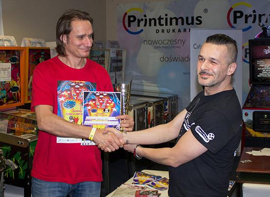 Third place, Markus Stix