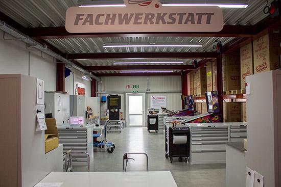 The machine preparation workshop