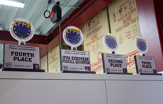 The ECS trophies