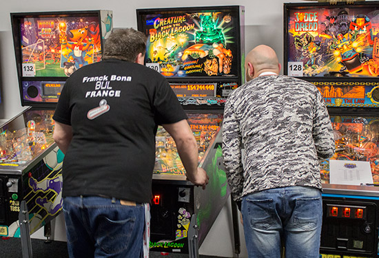 Franck and Daniele battle it out on Creature