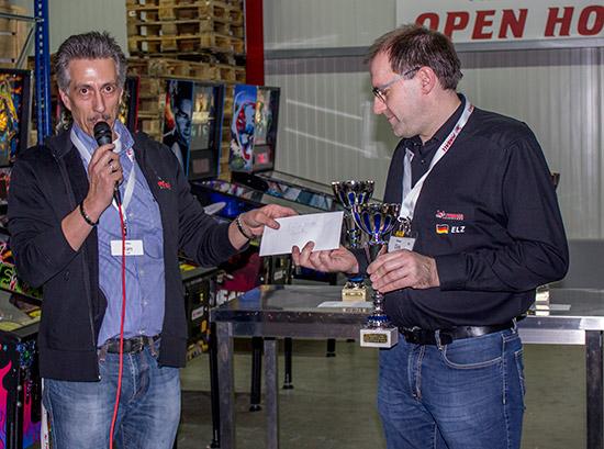 Fourth place, Dirk Elzholz