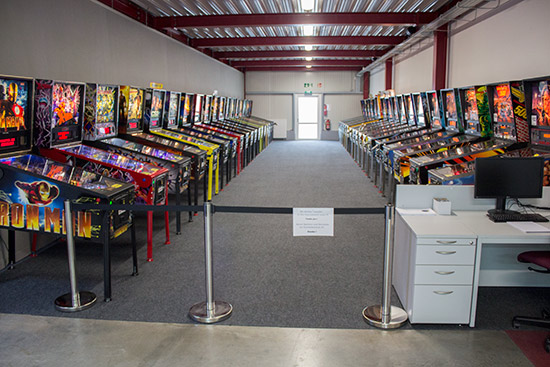 The main ECS tournament area