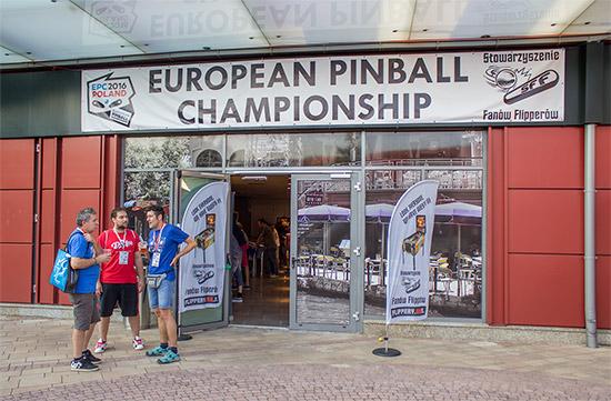 The venue for the EPC 2016