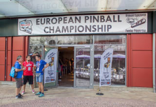 The venue for the European Pinball Championship 2016