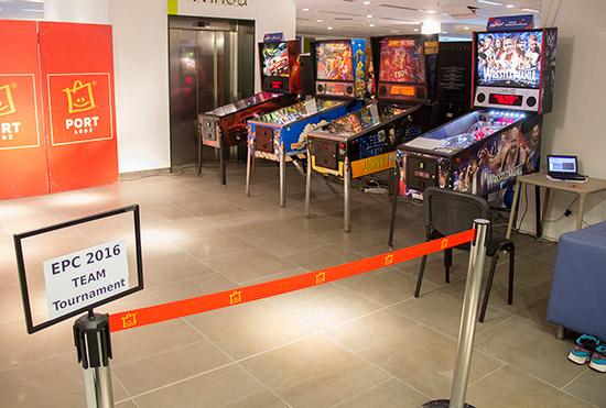The Team Tournament area